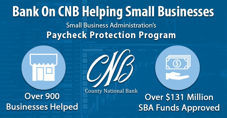 CNB Steps Up to Help Small Businesses