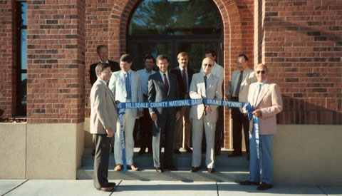 Howell St 1987 Ribbon Cutting